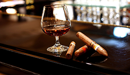 cigar bar menu